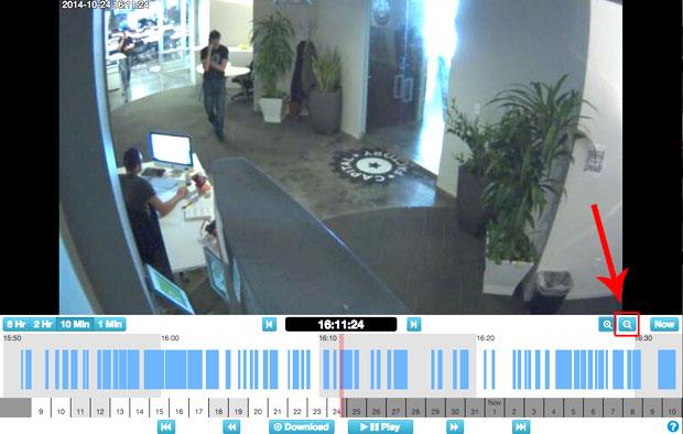 CCTV video footage